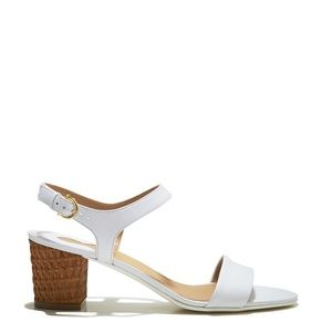 Salvatore Ferragamo Madison Leather City Sandal